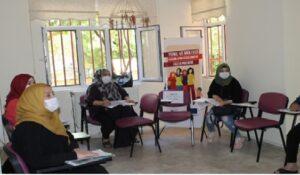 Mülteci kadınlar Türkçe öğrenerek iş hayatına atılmayı hedefliyor
